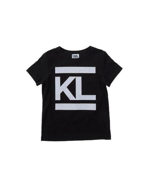 Karl Lagerfeld | Женская Чёрная Футболка