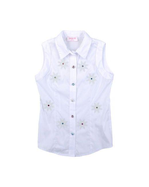 Ean 13   Женская Белая Pубашка