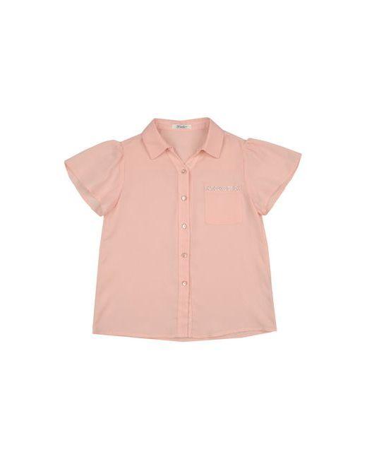 Gaialuna | Женская Розовая Pубашка
