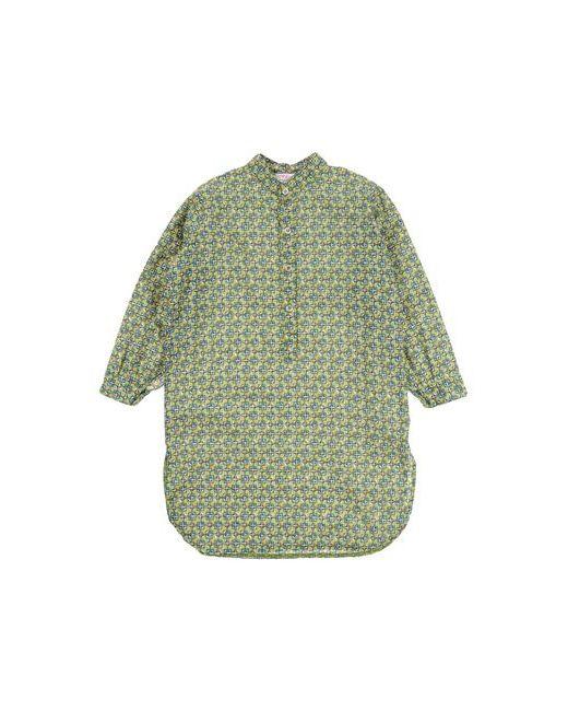 Amelia | Женская Зелёная Pубашка
