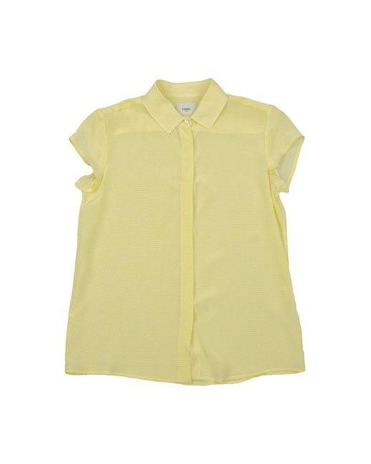 Fendi | Женская Жёлтая Pубашка