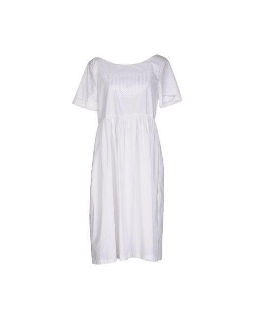 Liviana Conti | Женское Слоновая Костящее Платье До Колена