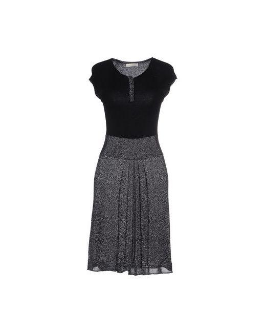 Scervino Street | Женское Чёрное Платье До Колена