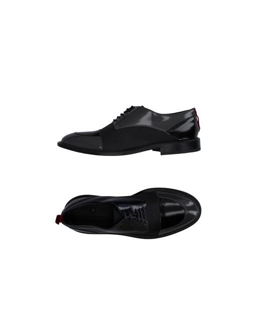 ATTIMONELLI'S | Мужская Синяя Обувь На Шнурках