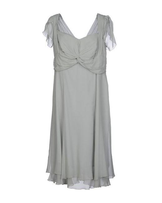 Clips | Женское Платье До Колена