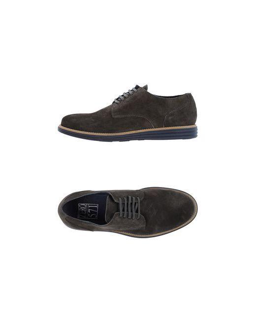 Zero_571 | Мужская Серая Обувь На Шнурках