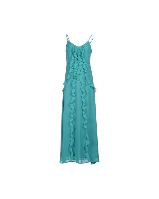 Biancoghiaccio | Женское Бирюзовое Длинное Платье