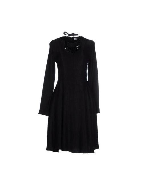 Angela Mele Milano | Женское Чёрное Платье До Колена
