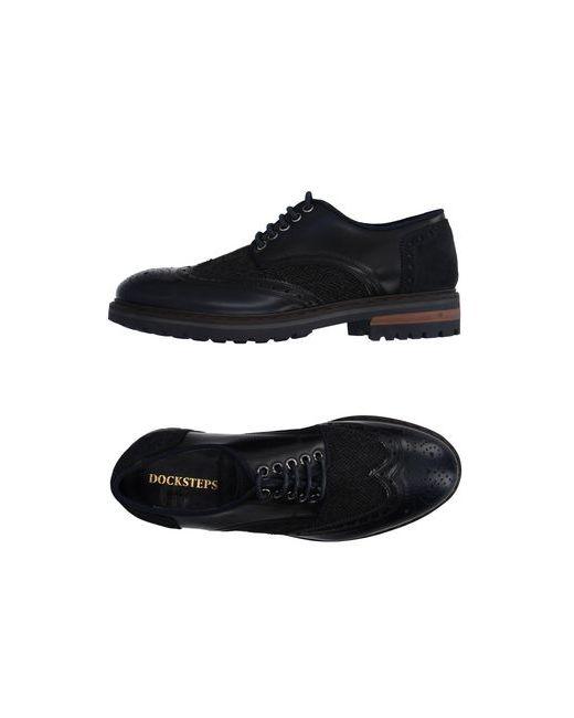 Docksteps | Мужская Синяя Обувь На Шнурках
