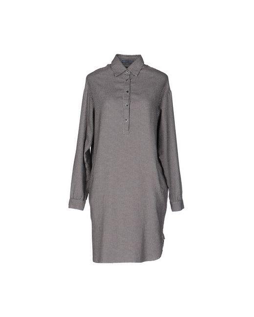Mu | Женское Коричневое Короткое Платье