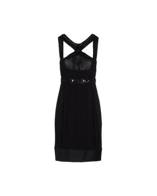 Roberto Cavalli   Женское Чёрное Короткое Платье