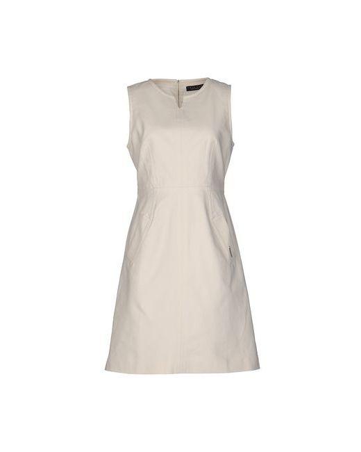 Twin-Set Simona Barbieri | Женское Слоновая Костящее Короткое Платье