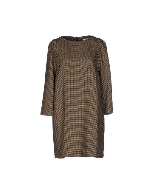 Mauro Grifoni | Женское Песочное Короткое Платье