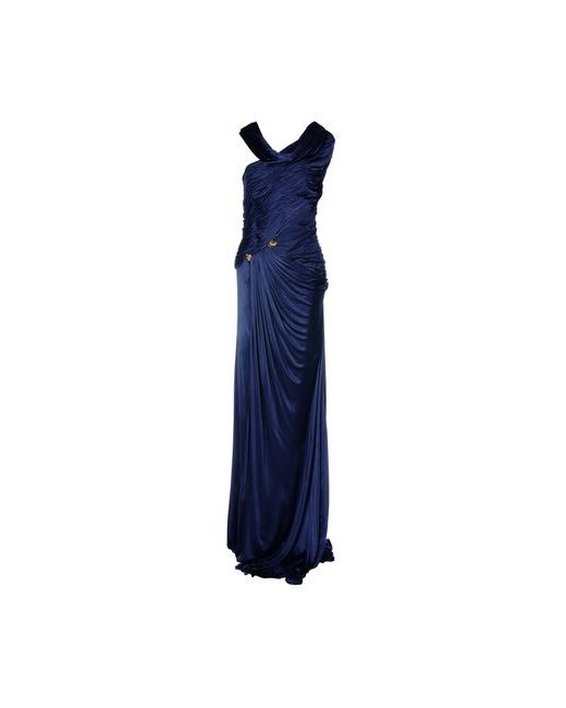 Roberto Cavalli   Женское Синее Длинное Платье