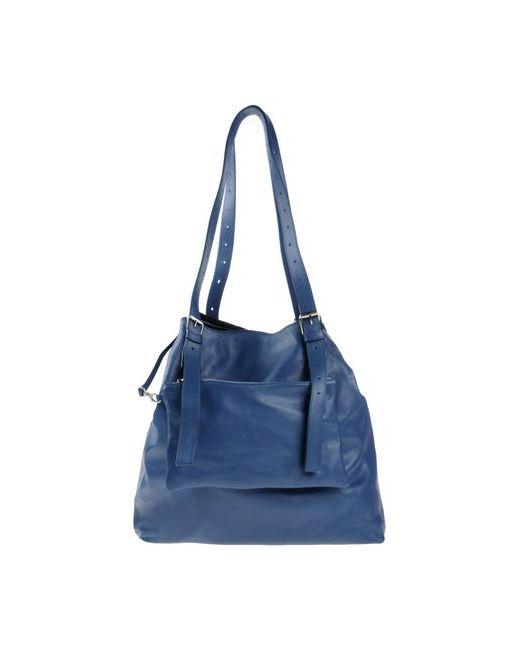 MM6 by Maison Margiela | Женская Синяя Сумка На Плечо