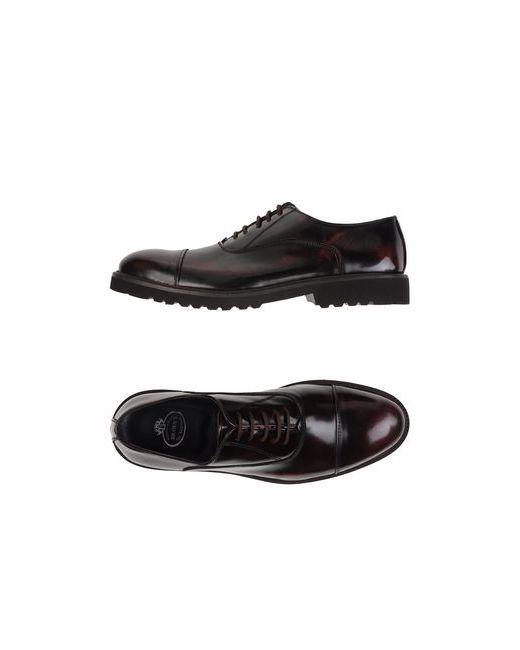 Brawn'S | Мужская Коричневая Обувь На Шнурках