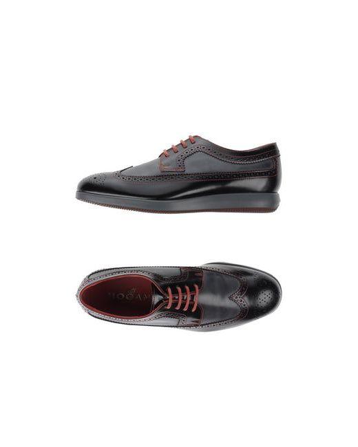 Hogan | Мужская Чёрная Обувь На Шнурках