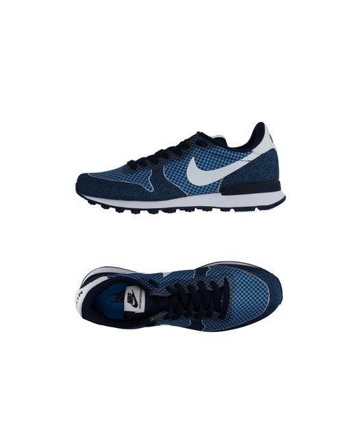 Nike | Мужские Лазурные Низкие Кеды И Кроссовки