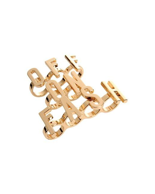 Moschino Couture | Женское Золотистое Кольцо