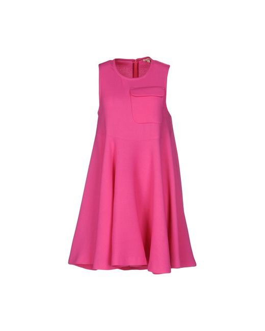 P.A.R.O.S.H. | Женское Фуксия Короткое Платье