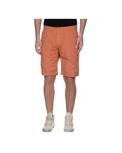Woolrich | Оранжевые Бермуды