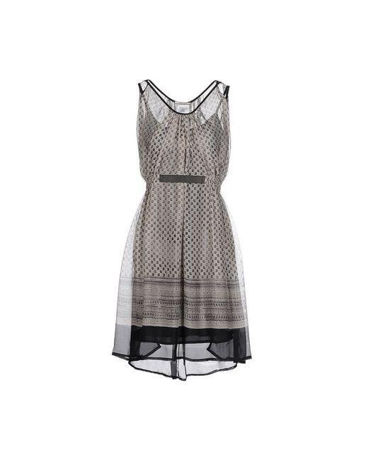 REBEL QUEEN | Женское Бежевое Короткое Платье