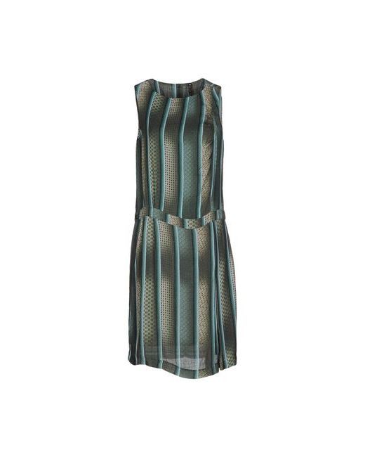Manila Grace | Женское Зелёное Платье До Колена