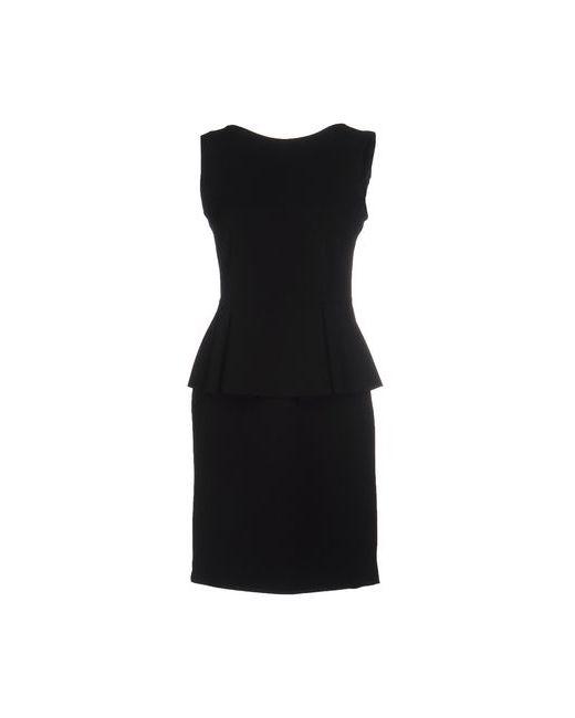 Boutique De La Femme   Женское Чёрное Короткое Платье