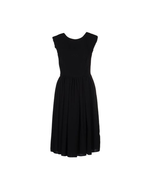 Blanca Luz | Женское Чёрное Платье До Колена