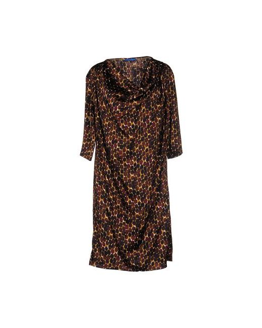 Joop!   Женское Коричневое Платье До Колена