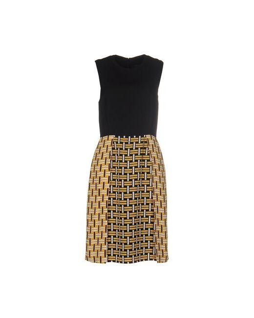 Fendi | Женское Чёрное Платье До Колена