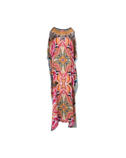 OTT | Женское Фуксия Длинное Платье