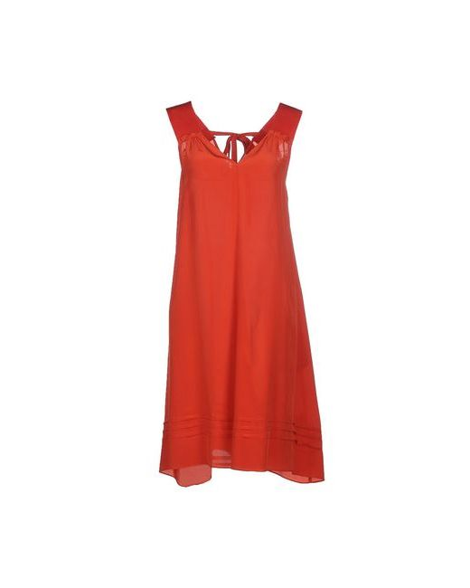 ...À_La_Fois...   Женское Розовое Короткое Платье