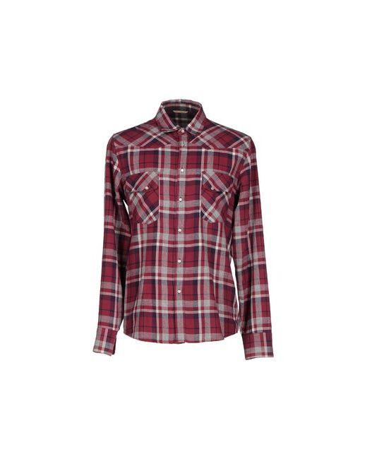 NOVEMB3R   Мужская Фиолетовая Pубашка