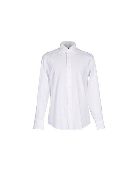 GHIRARDELLI | Мужская Белая Pубашка