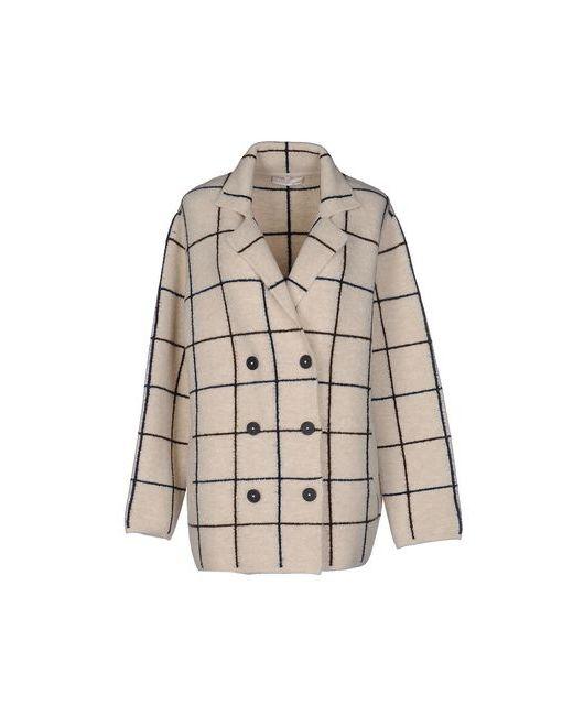 Stefanel | Женское Бежевое Пальто