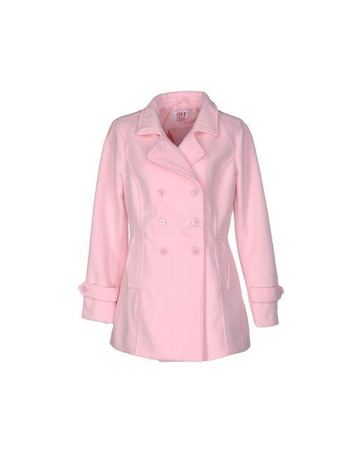 SH COLLECTION | Женское Розовое Пальто