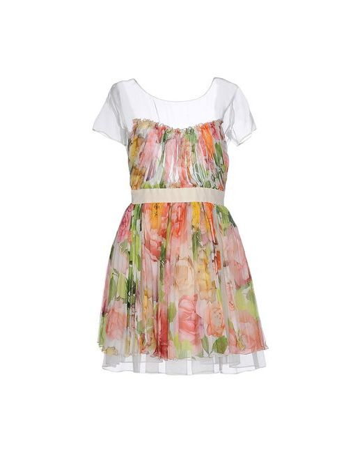 Blugirl Blumarine | Женское Белое Короткое Платье