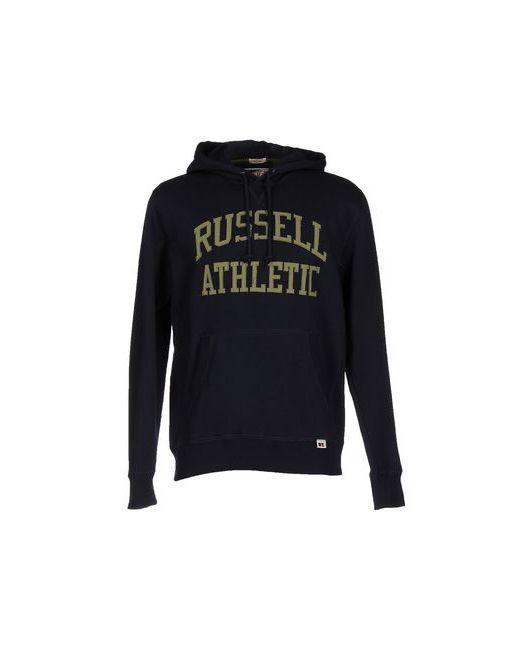 Russell Athletic | Мужская Синяя Толстовка