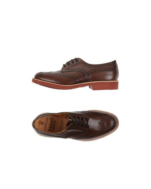 Tricker'S | Женская Коричневая Обувь На Шнурках
