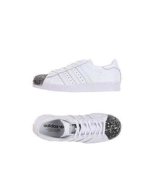 adidas Originals   Мужские Белые Низкие Кеды И Кроссовки