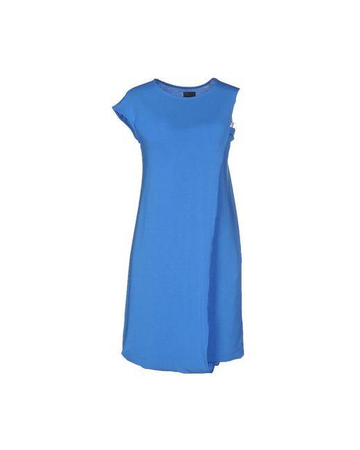 Calvin Klein | Женское Лазурное Короткое Платье