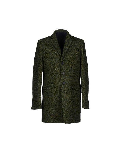 VAPOFORNO MILANO   Мужское Зелёное Пальто