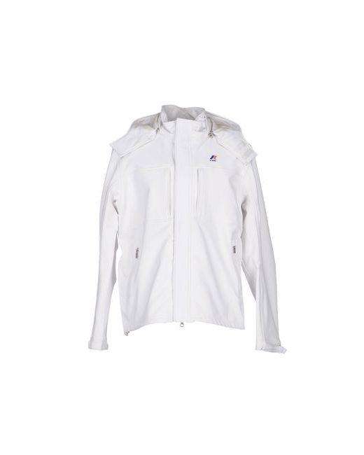 K-Way   Женская Белая Куртка
