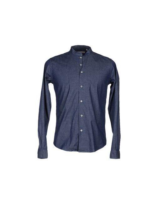 Barbati | Мужская Синяя Джинсовая Рубашка