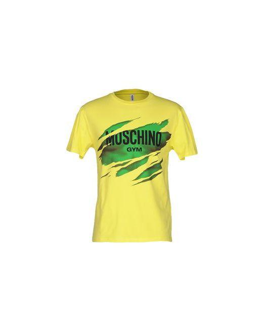 Moschino Underwear | Женская Жёлтая Футболка
