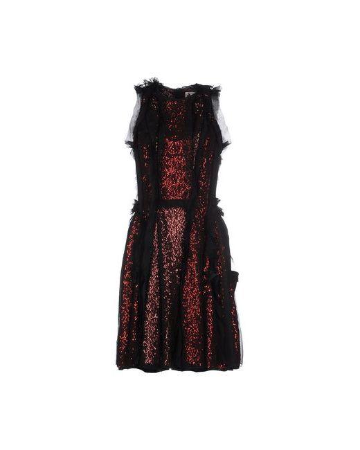 Lanvin | Женское Фиолетовое Короткое Платье