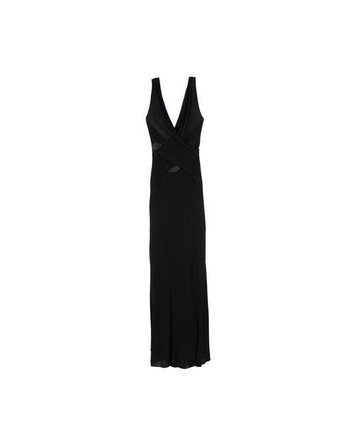 Alberta Ferretti | Женское Чёрное Длинное Платье