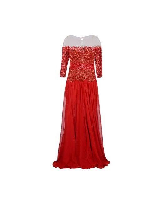 Zuhair Murad | Женское Красное Длинное Платье