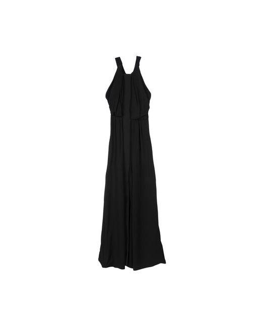 Balenciaga | Женское Чёрное Длинное Платье